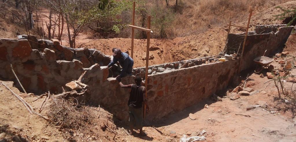 Building Sand Dam