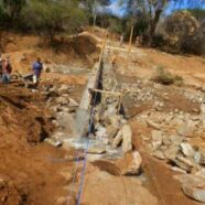 Exchange Dam Construction